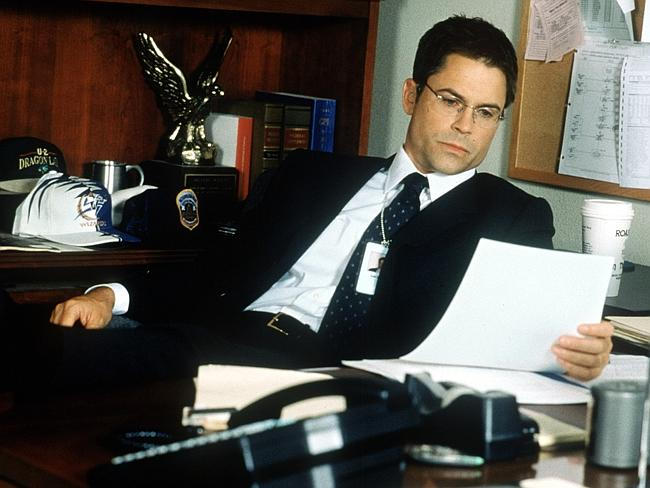 """Rob Lowe in """"The West Wing""""."""