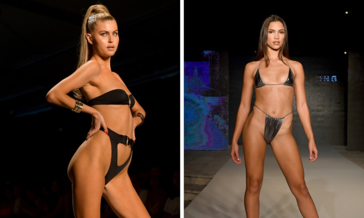 The crazy swimwear styles at Miami Swim Week