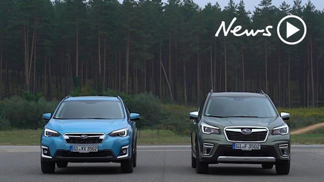 Subaru's new hybrid SUVs