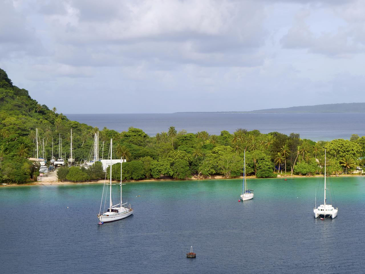 breathtaking...The stunning Port Vila in Vanuatu. Picture: Supplied