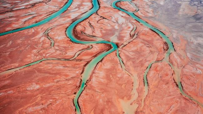 Lake Eyre Aerial Image, South Australia. Picture: Supplied