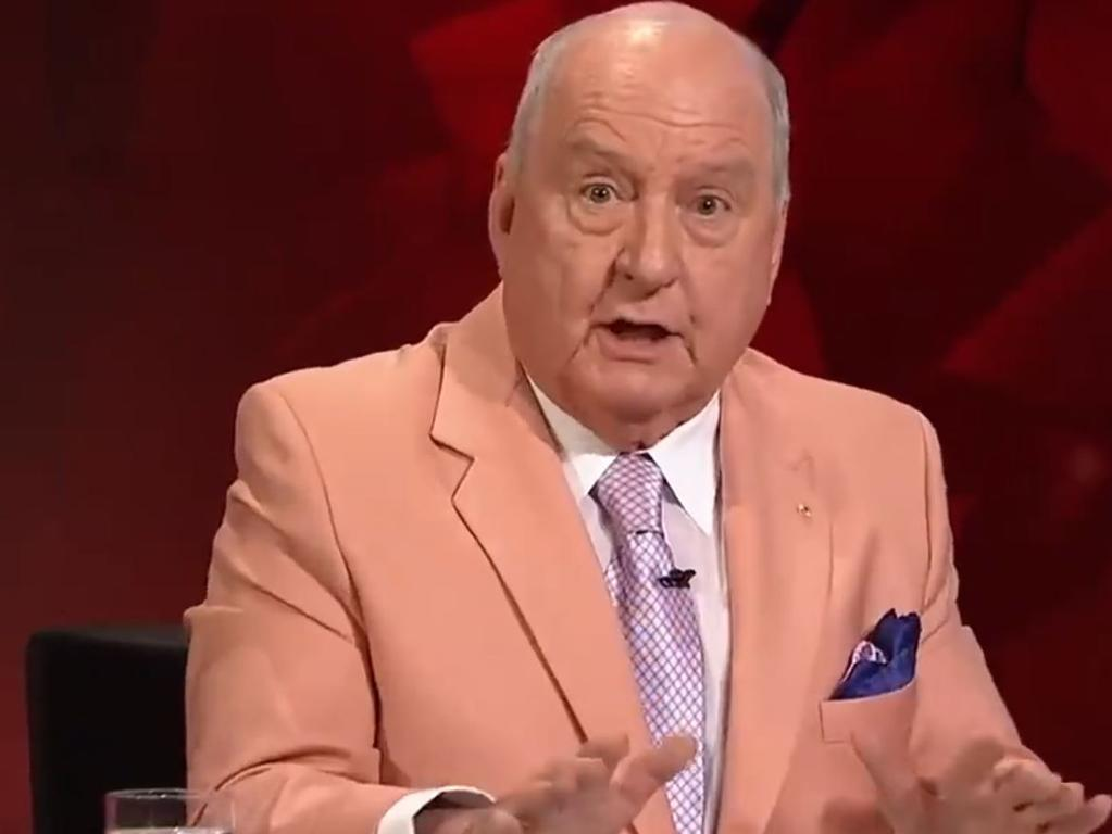 Alan Jones has ripped into the AFP. Picture: ABC