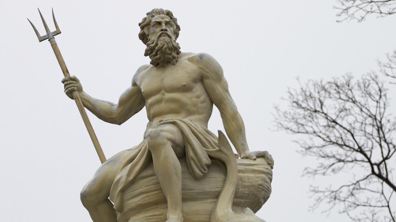 A statue of Poseidon, Greek God of the sea. Picture: Thinkstock