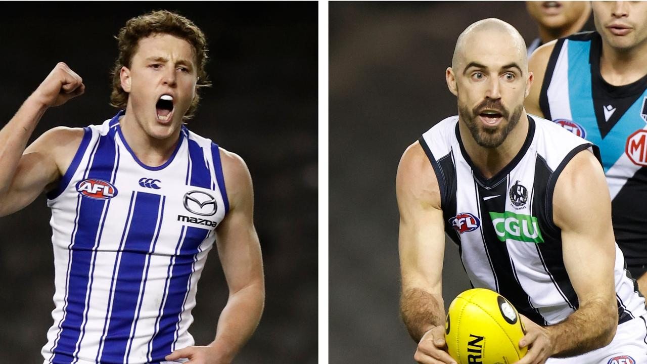 Round 19 AFL Talking points, featuring Nick Larkey and Steele Sidebottom.
