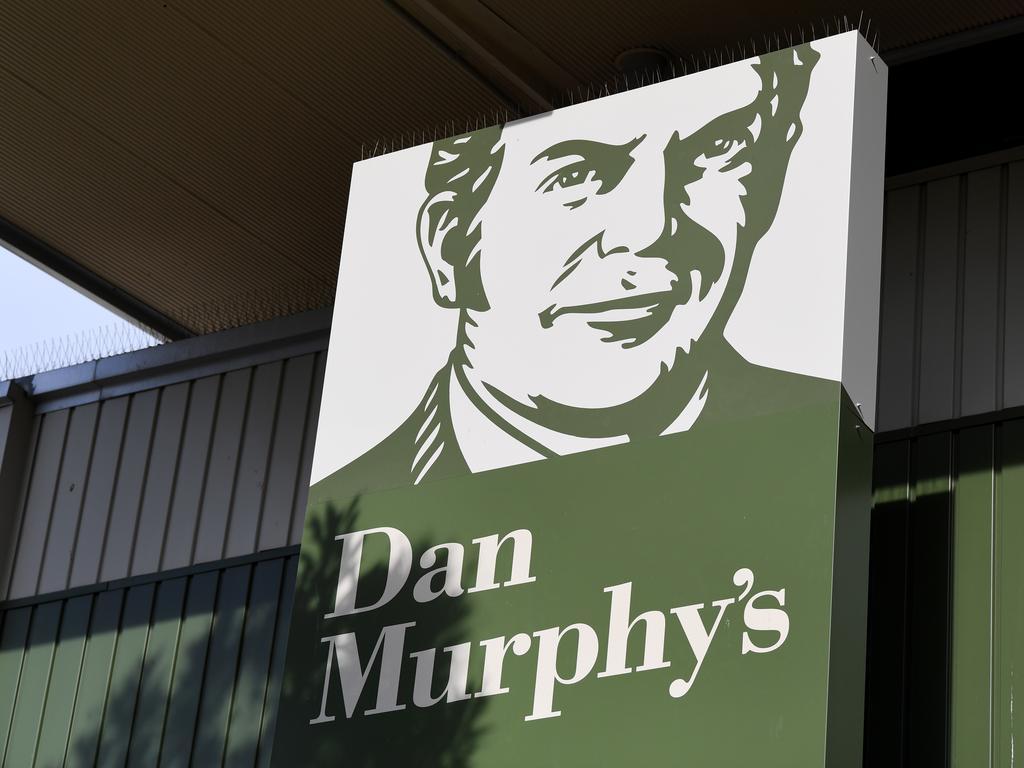 BRISBANE, AUSTRALIA - NewsWire Photos - APRIL 29, 2021.   Signage outside a Dan MurphyÕs liquor store in Brisbane.   Picture: NCA NewsWire / Dan Peled