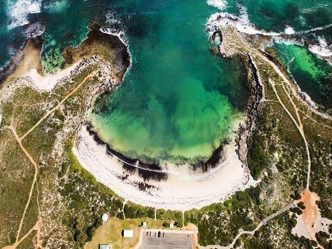 Dynamite Bay on Western Australia's Coral Coast made the top 20 of Australia's 101 Best Beaches. Picture: Supplied