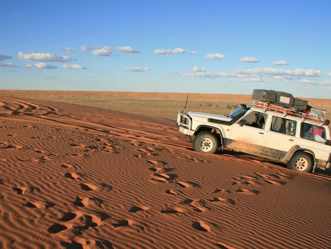 19. TAKE ON THE BIG RED If your new travel ethos is to go as remote as possible, start planning your pilgrimage to watch the sun slip below the horizon from the top of Big Red – the first sand dune in the Simpson Desert, just outside Birdsville.