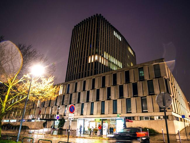 Scene ... police uncovered an alleged cross-border prostitution ring involving the managers of the luxury Carlton hotel in Lille (pictured). Picture: AFP/Philippe Huguen