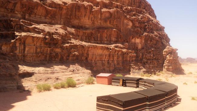Salman Zwaidh Camp, Jordan. Picture: Supplied