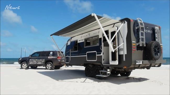 The Rolls-Royce of caravans