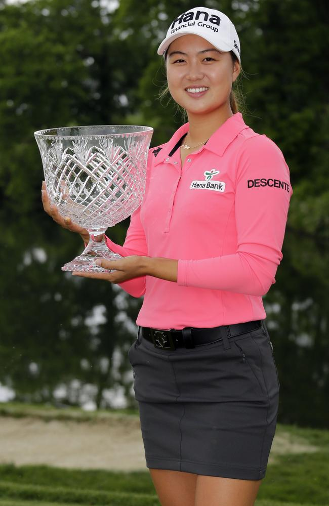 Minjee Lee won't have to qualify for the US Open now after her big win.