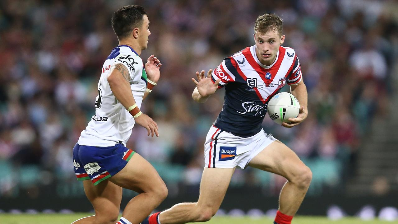 Sam Walker could change the way halfbacks play, according to Roosters coach Trent Robinson. Photo: Getty Images