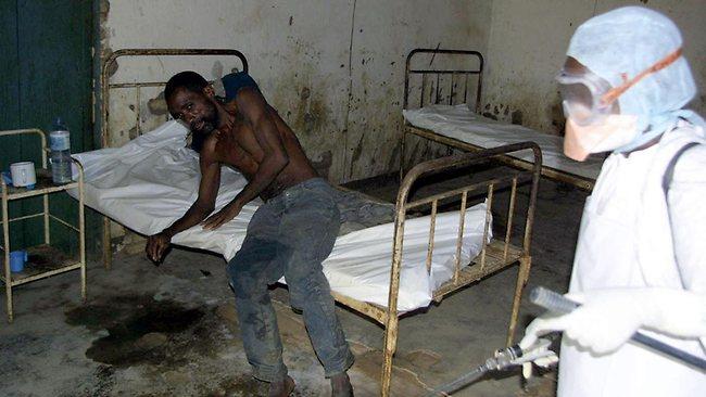 ebola hospital
