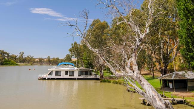 13. THE PLACE TO GO ON A 'CRUISE' WITHOUT LEAVING THE STATE Houseboat trip up the Murray  While that dream Pacific cruise looks like being on hold for a little while yet, take to local waters and discover the wonders of the mighty Murray. River cruising comes in all shapes and sizes, from the yesteryear charms of the little steam-powered paddle-steamer the PS Marion to larger vessels such as the Murray Princess or Proud Mary. Hiring a houseboat, on the other hand, means you can make all the decisions about where to go and when to pull in for a short stroll. Aye, aye captain. Picture: South Australian Tourism Commission