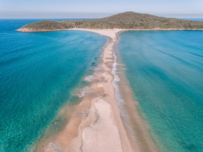 12/20Fingal Bay, NSWA great spot for families, this patrolled beach features a sand spit that links to the mainland of Fingal Island. Picture: @cjrvisuals