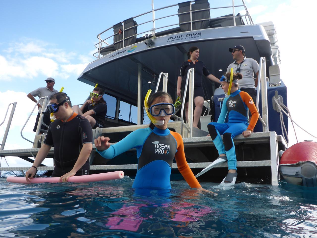 ESCAPE: Hamilton Island - Snorkelling with Explore. Picture: Simon Tsang.