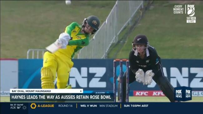 Aussies dominate as win no.23 achieved