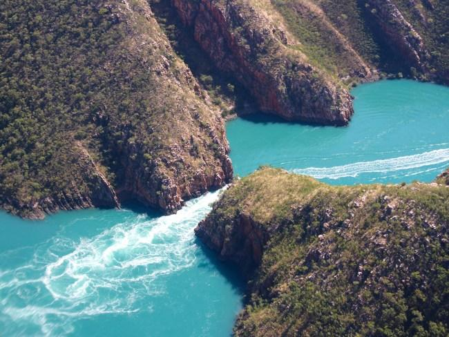 Horizontal Falls is one of the wonders of the Kimberley.
