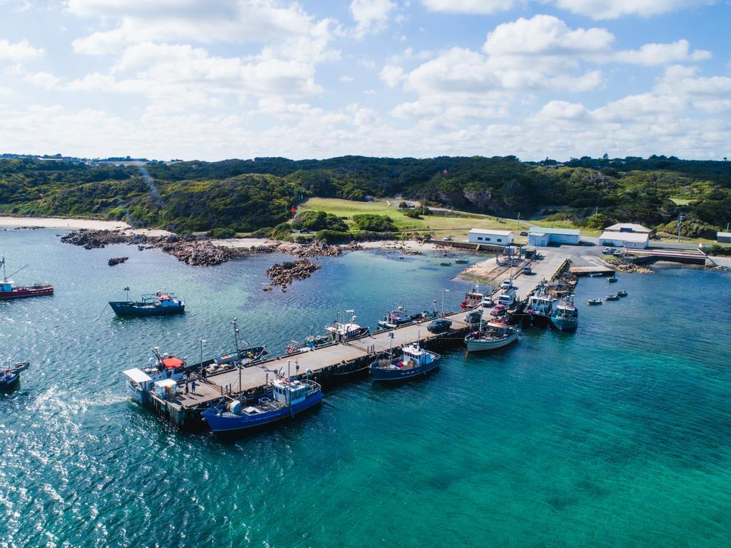 King Island is home to around 1200 people. Picture: Tourism Tasmania/Stu Gibson