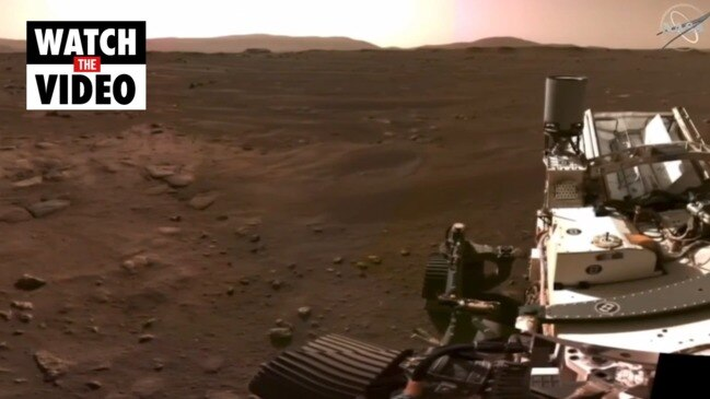 Incredible video and sound of Mars