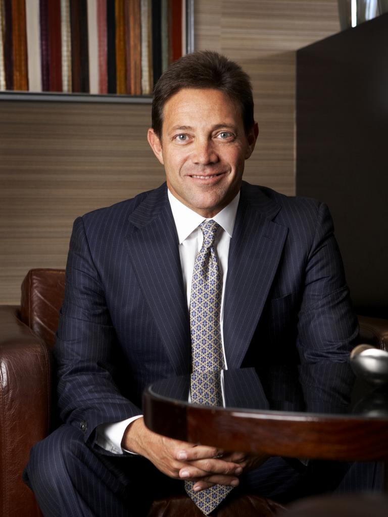 The real Jordan Belfort wrote the book which the movie was based on.
