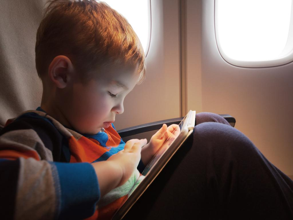 Limit screen time as much as possible — and pack some other activities to keep them occupied.