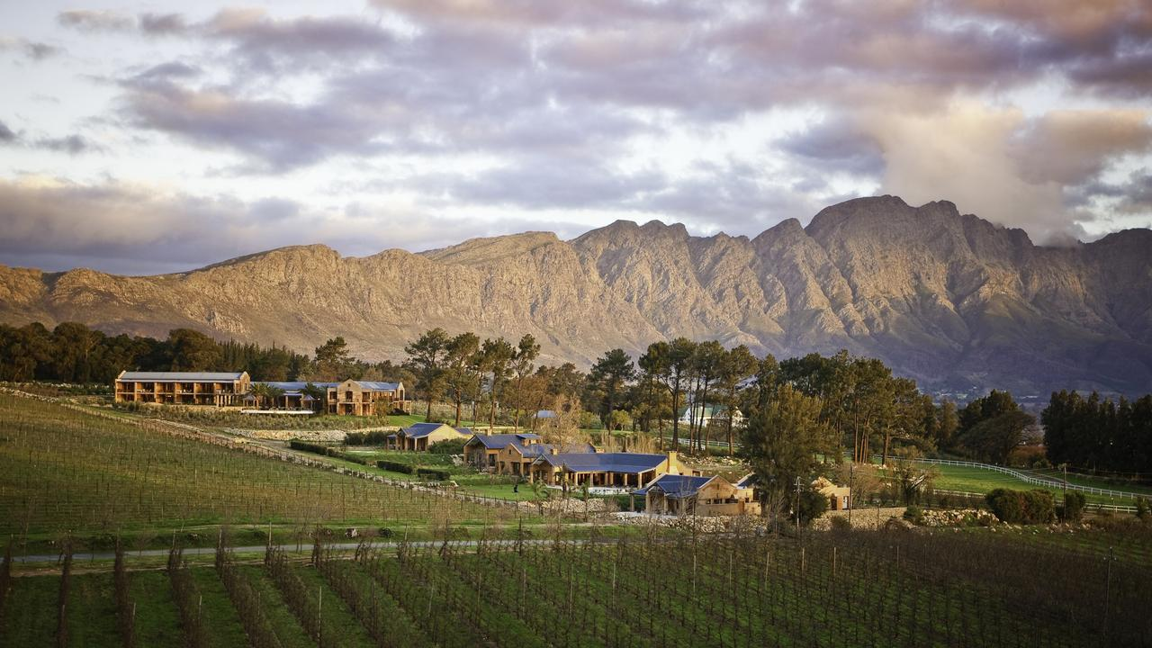 Don't forget about the wine! Visit Franschhoek and stay at La Residence. Picture: The Royal Portfolio