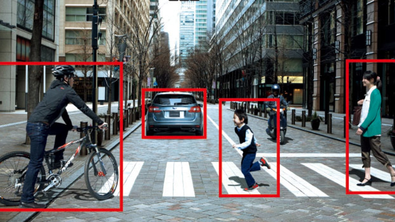 Advanced versions of AEB can also detect pedestrians and cyclists.
