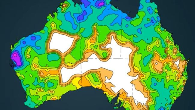 Supplied  BOM Autumn climate outlook