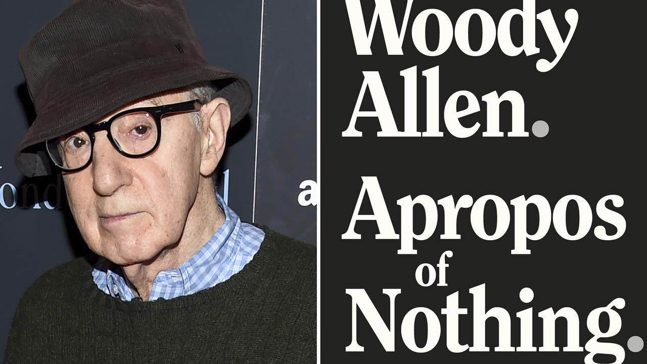 Woody Allen - and his controversial new memoir. Picture: AP