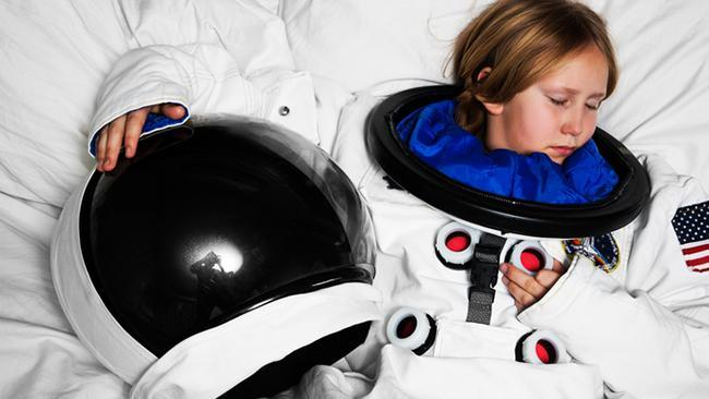 The future of space travel is napping