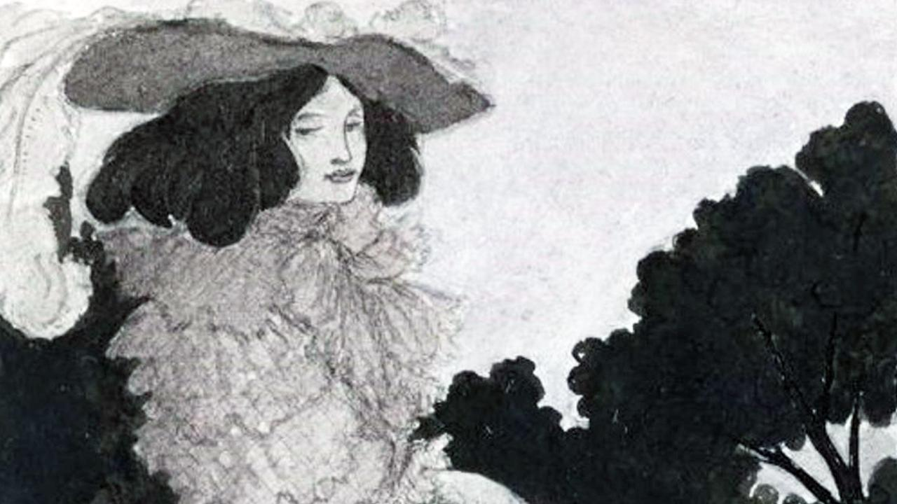 Mademoiselle de Maupin, by Beardsley. Picture: Alamy