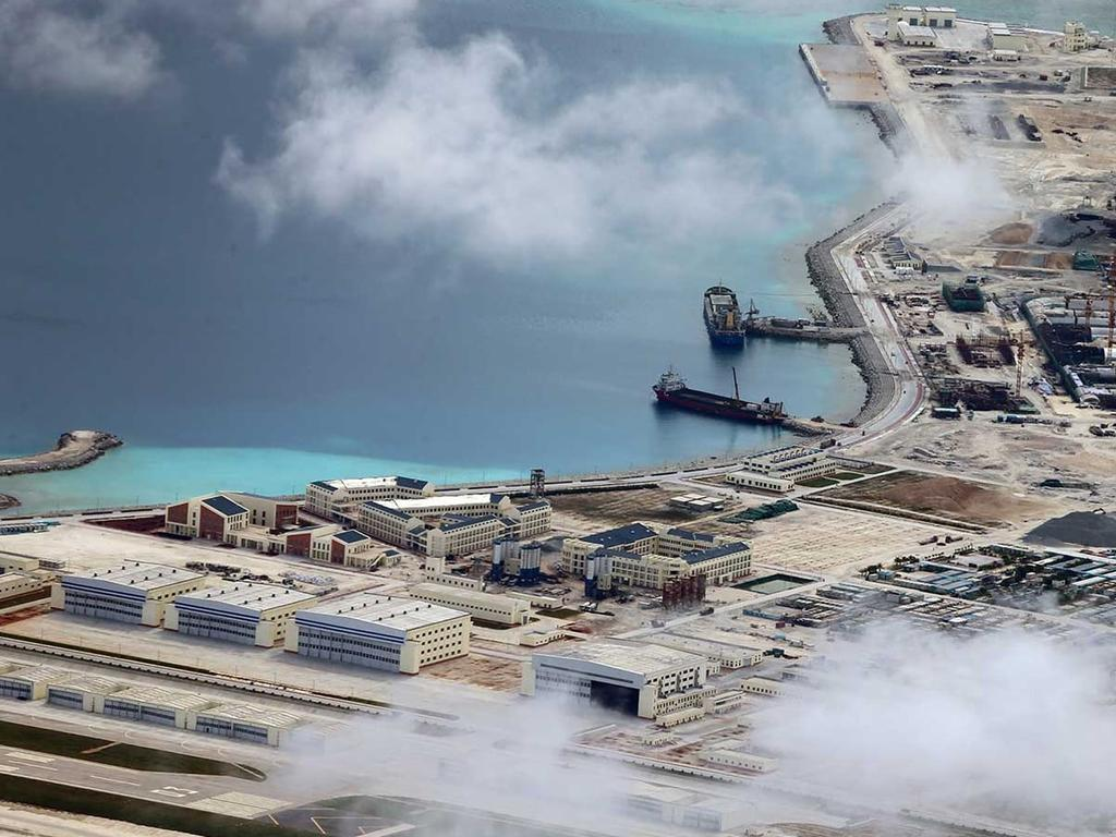 Photos show Beijing's militarisation of South China Sea in new detail. The surveillance pictures were mostly taken between June and December last year. Photograph: Inquirer.net/Philippine Daily Inquirer