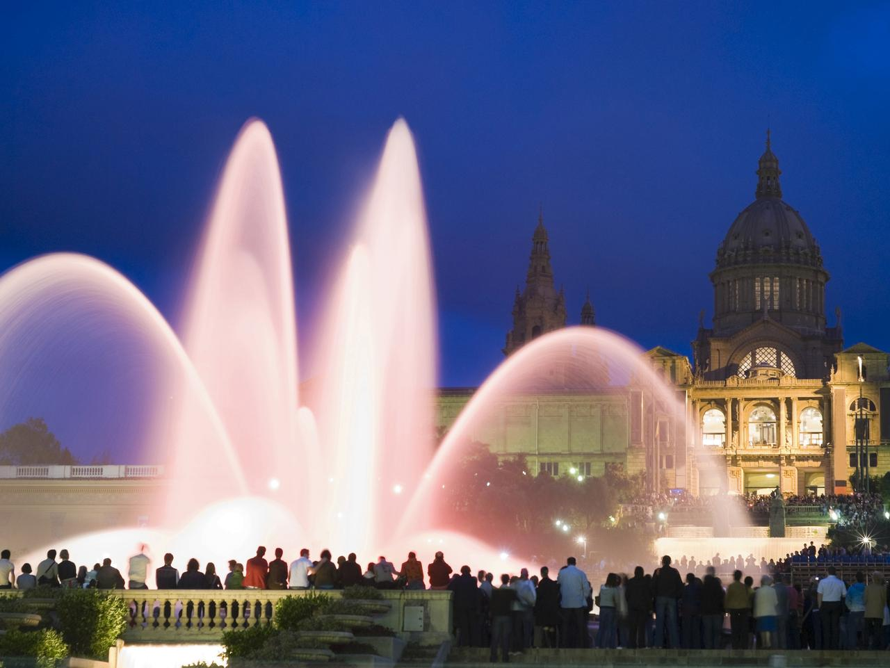 Supplied Travel ESCAPE TRAVEL BARCELONA - The Magic Fountain of Montjuic, Barcelona. Picture: iStock