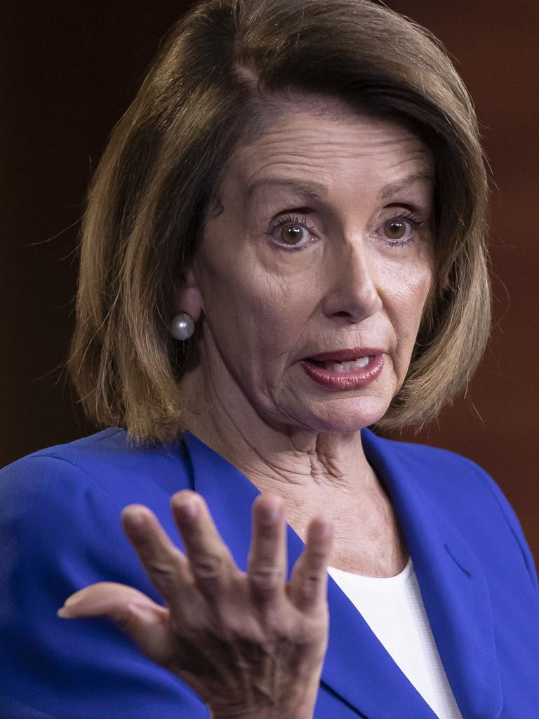 """Donald Trump says Nancy Pelosi is """"bad for the country"""". Picture: AP"""