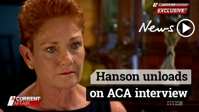 Pauline Hanson breaks down after Steve Dickson saga