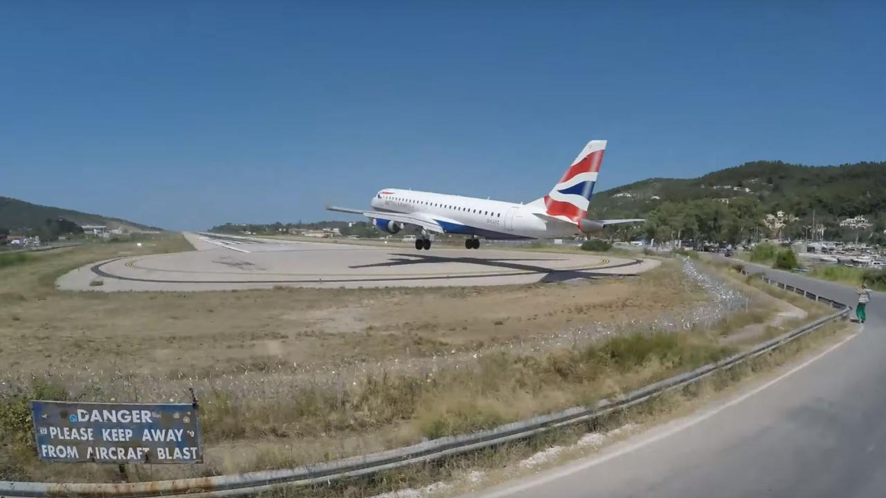 The plane landings are one of the island's main attractions. Picture: Cargospotter