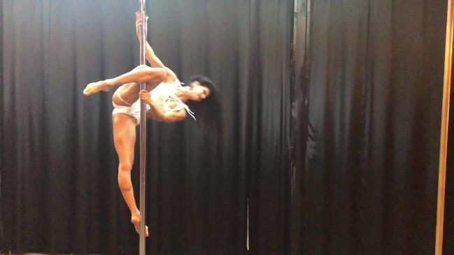 Pole dancer is world champ at 44