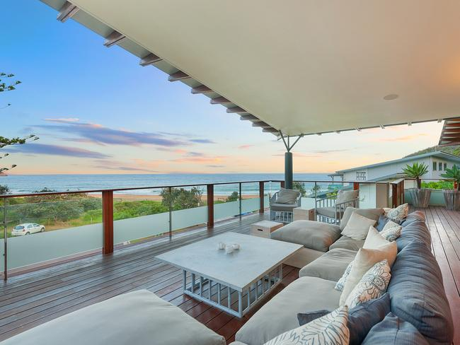 Belle Property rent out the high-end 'Saltwood' at Killcare.