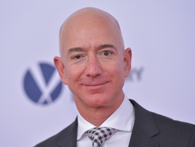 Amazon CEO Jeff Bezos. Picture: AFP