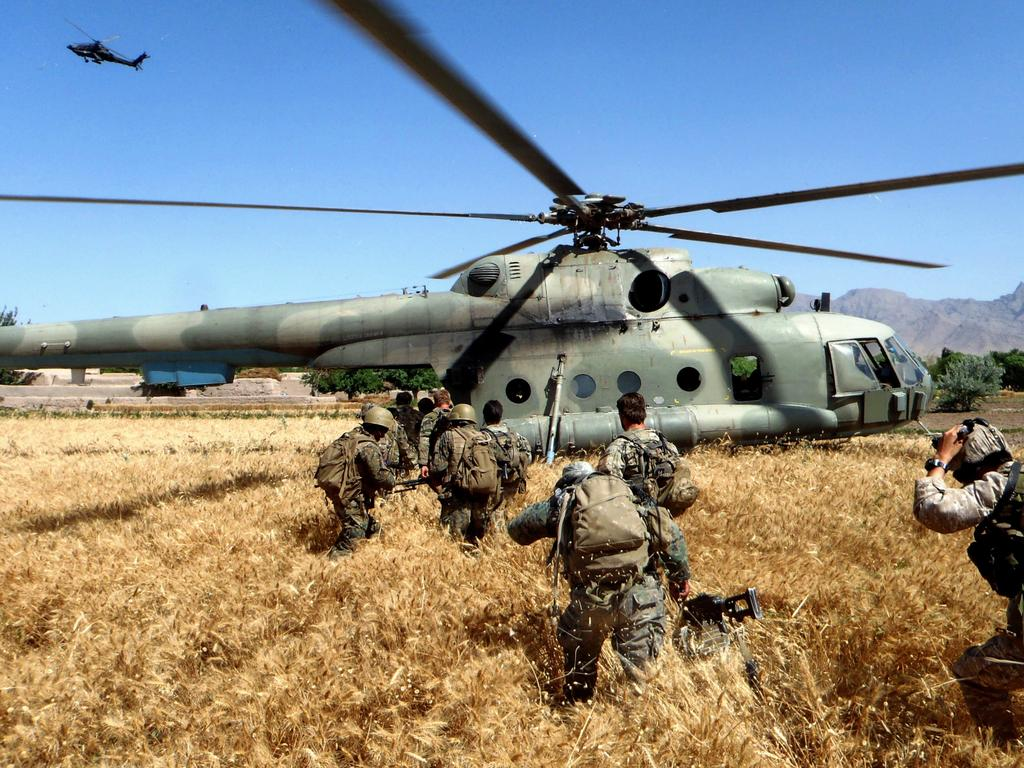 It has been alleged that Aussie soldiers unlawfully killed 39 people in Afghanistan. Picture: Department of Defence