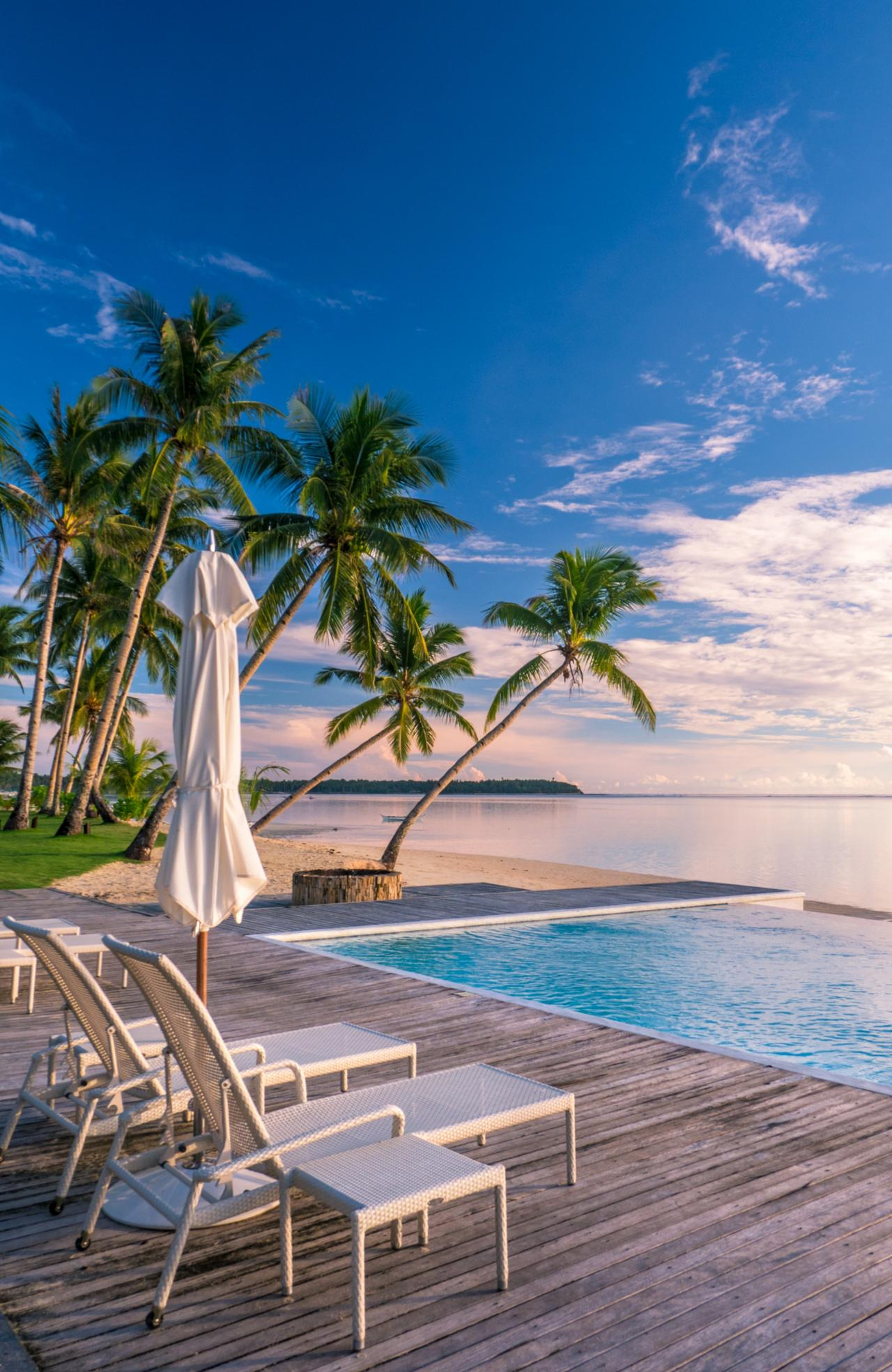 ESCAPE: Mark Fitz, Siargao Philippines - Isla Cabana Resort in Siargao. Picture: Mark Fitz