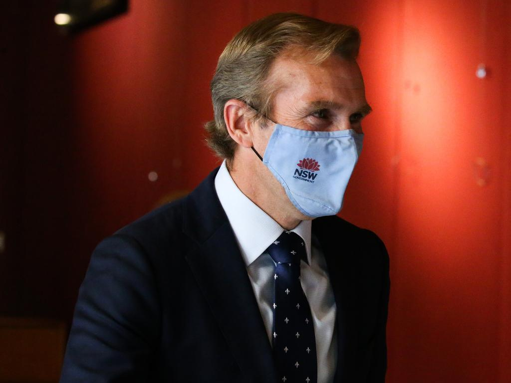 Rob Stokes suffered a resounding loss in the partyroom ballot. Picture: NCA NewsWire / Gaye Gerard