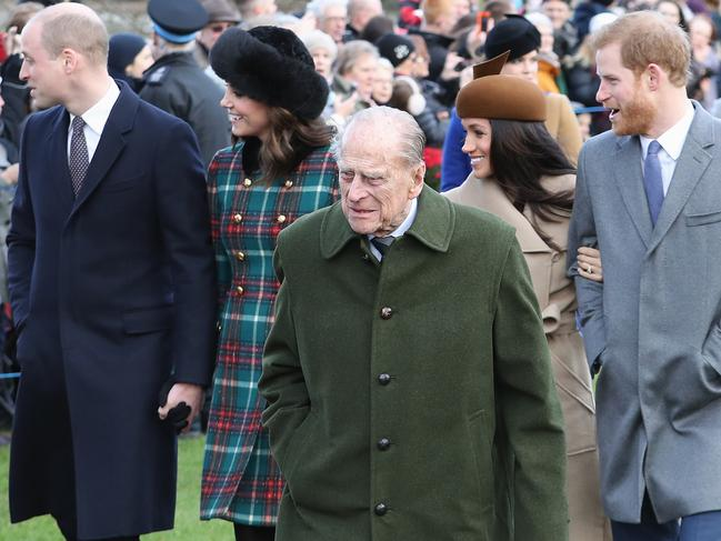 Prince William and Kate Middleton update official website after Prince Philip's death