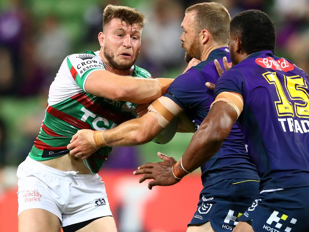 Jai Arrow has been sensational for South Sydney coming off the bench. Picture: Robert Cianflone/Getty Images.