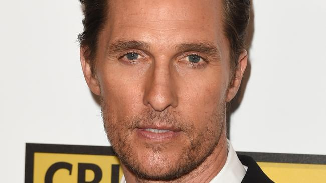 We can see why Matthew McConaughey's ghost sticks around. Picture: Jason Merritt/Getty Images