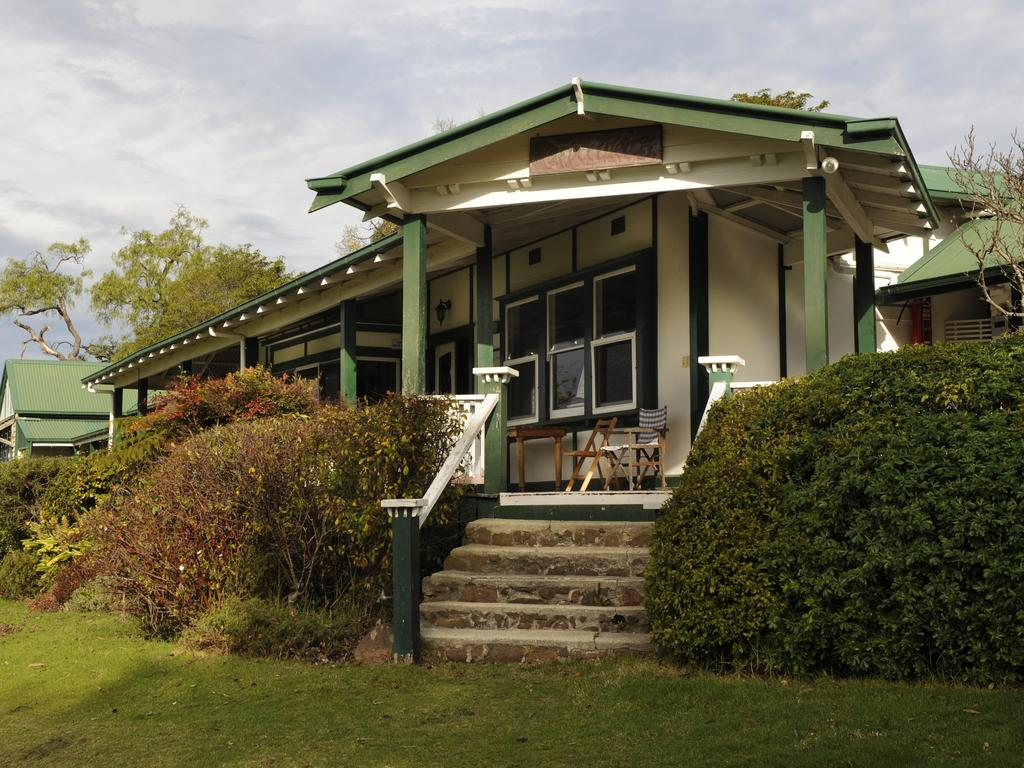 Karbeethong Lodge, Mallacoota was built in 1902 and a wonderful place to put your feet up and relax. Picture: Supplied.