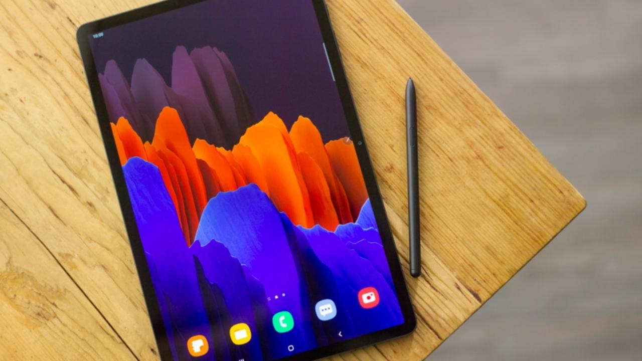 Samsung's Galaxy Tab 7+. Picture: Supplied
