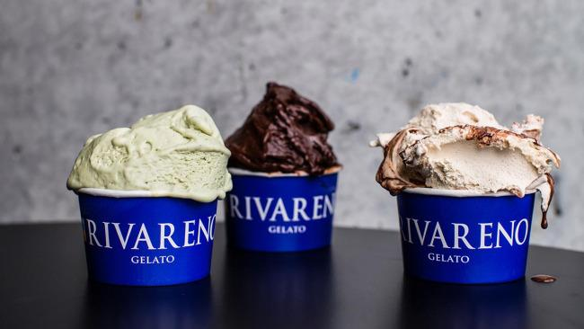 "2/17 Sydney: Rivareno Gelato, Barangaroo, Darlinghurst and Parramatta If you want to transport your tastebuds to Italy, go here. Born in Milan in 2005, Rivarena Gelato is as authentic as it gets in the Southern Hemisphere. Locals say: ""Gelato here is off the hook; creamy, rich in flavour and the texture of the gelato is amazing. Try the non dairy options: the pistachio and bitter dark chocolate sorbets."""