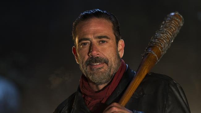 Jeffrey Dean Morgan starred as Negan in The Walking Dead.